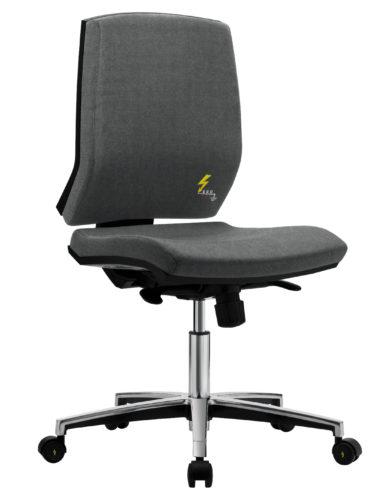 ESD Bürodrehstühle mit niedriger Rückenlehne und Rollen Gref 263