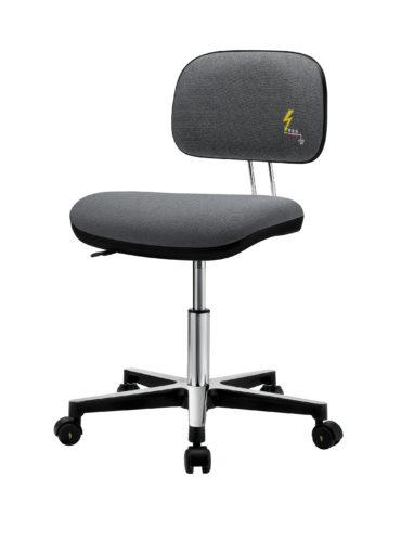 ESD Bürostuhl mit Textilpolster und Rollen, frau, Gref Work 230