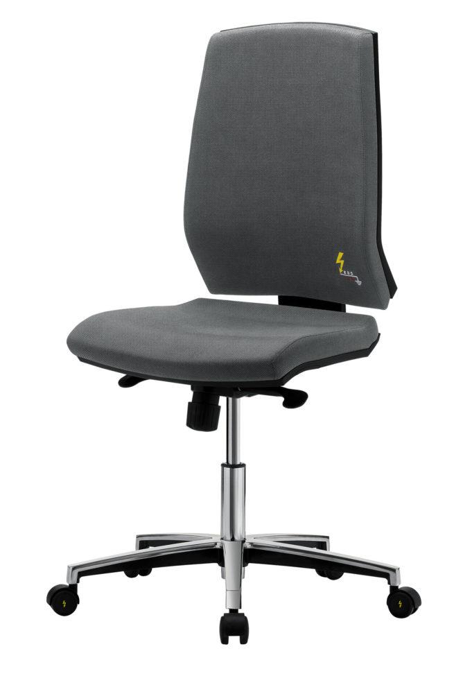 ESD Bürostuhl mit hoher ergonomischer Rückenlehne Gref 261