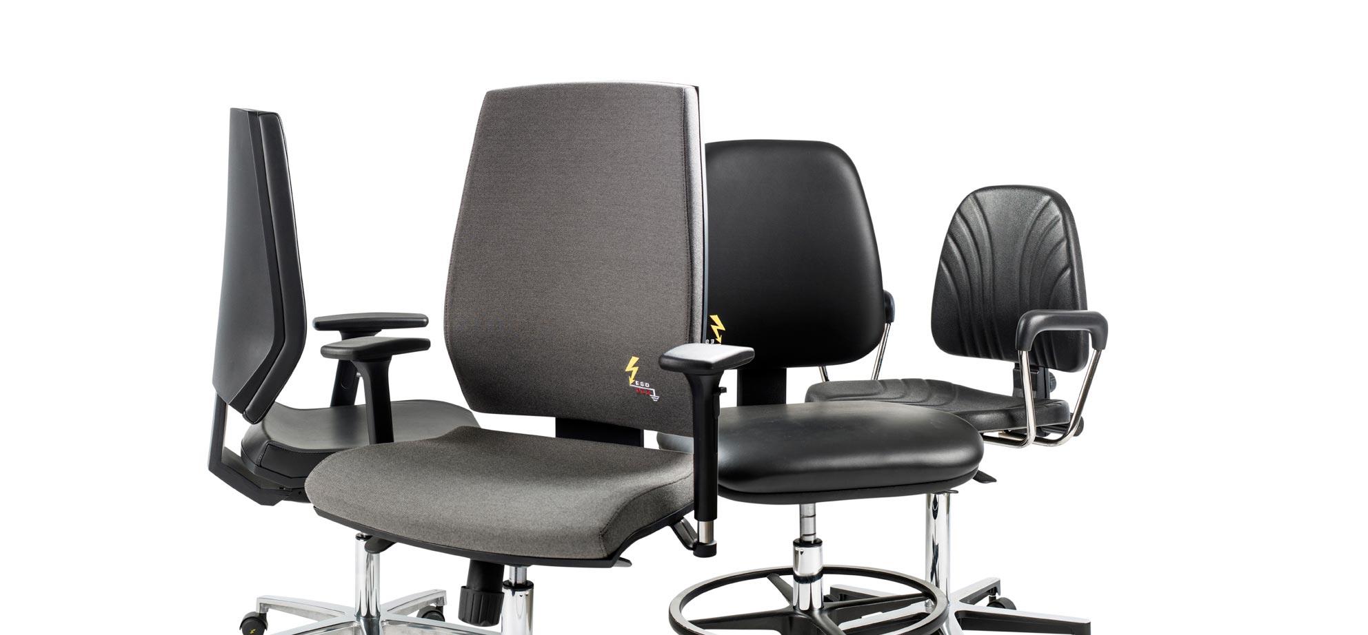 ESD-Stuhle von Gref Grendene